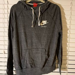 Nike pull over with hood